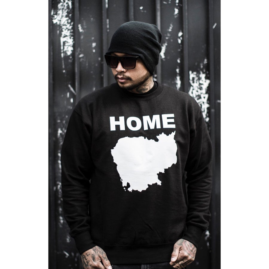 Image of HOME CREW-NECK SWEATER