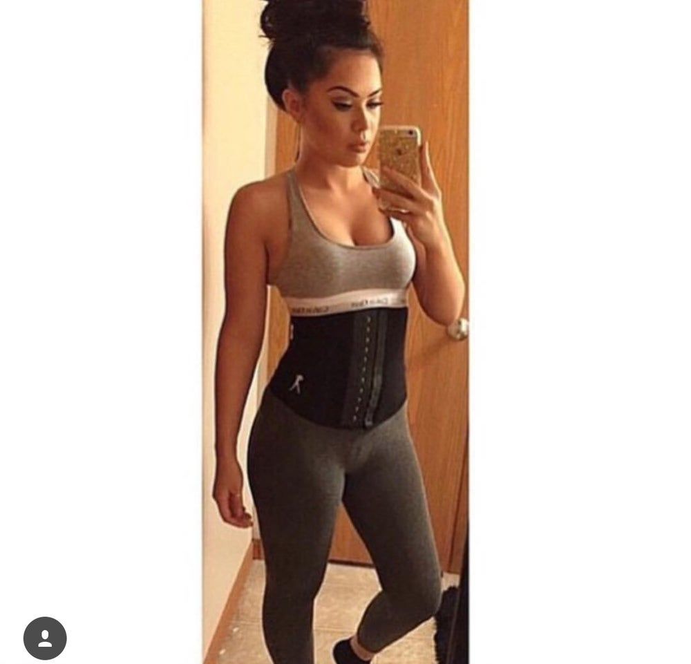 Image of BLACK GYM SPORTS WAIST TRAINER (up to 5XL)