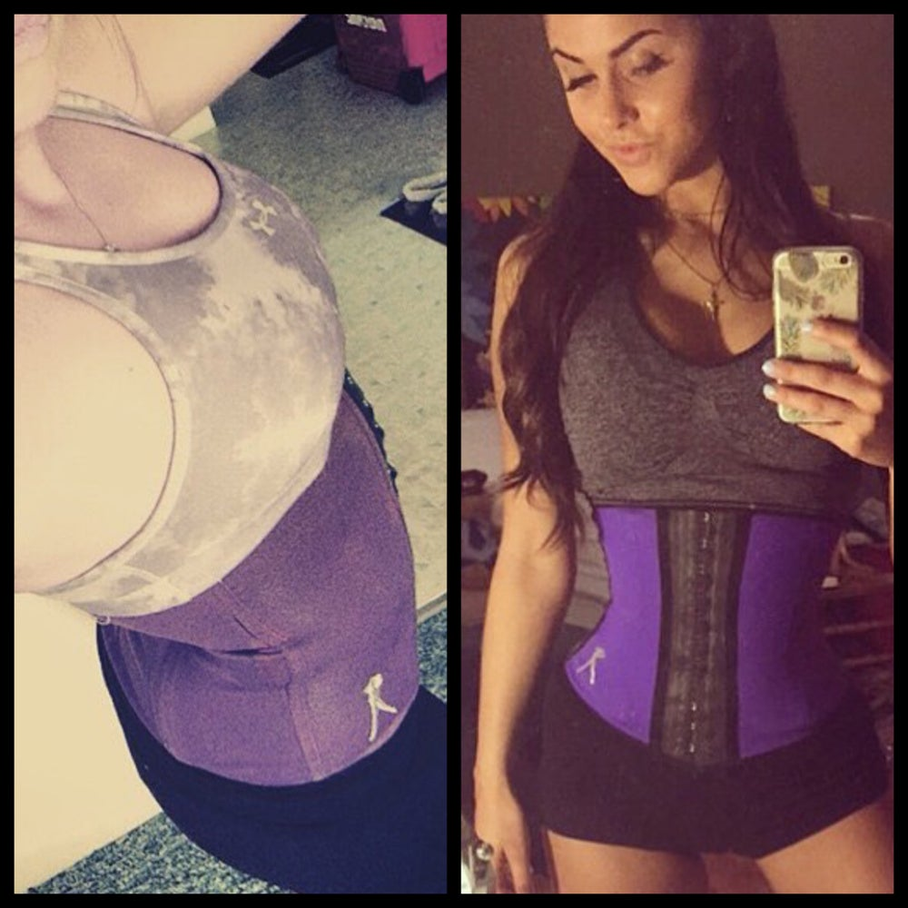 Image of PURPLE GYM SPORTS WAIST TRAINER