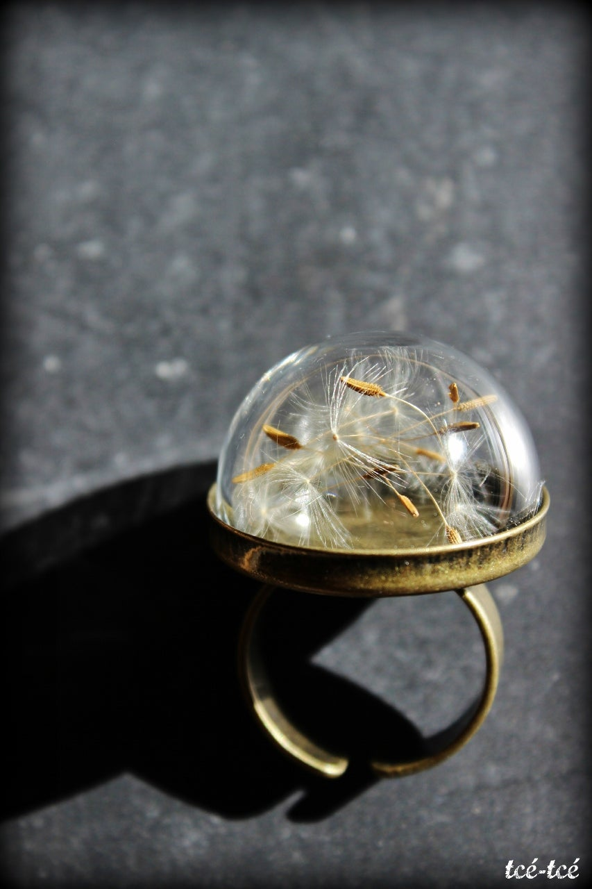 "Image of Bague "" Dandelion """