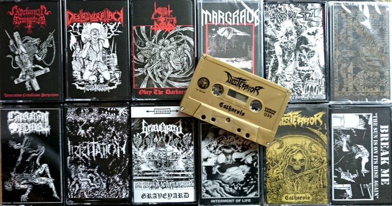 Image of Distro Cassettes