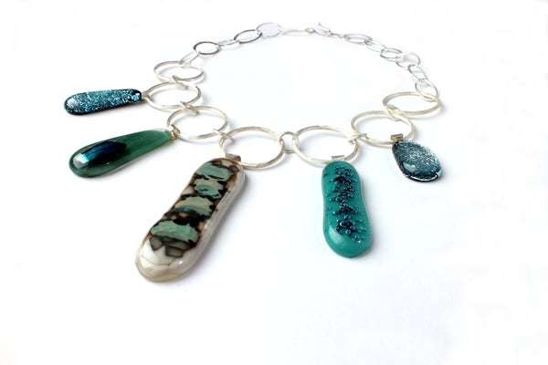 River Loop Necklace - Laura Pettifar Designs