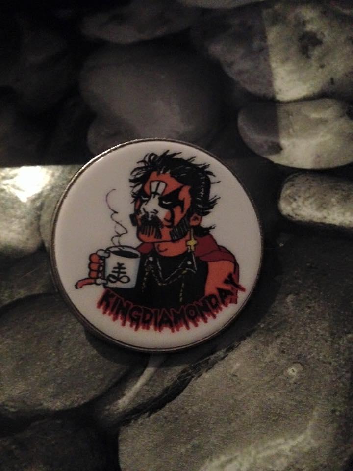 Image of Kingdiamonday pin