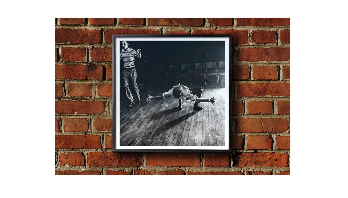 Image of 'Back Drop' Framed Print