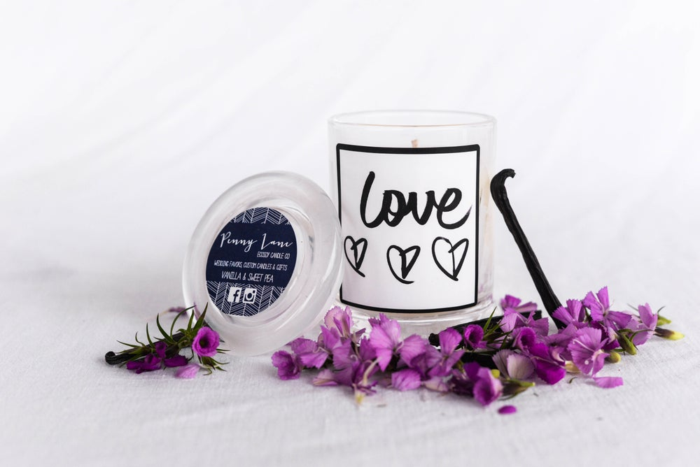 Image of Penny Lane X Ivy Invite Quote Candle