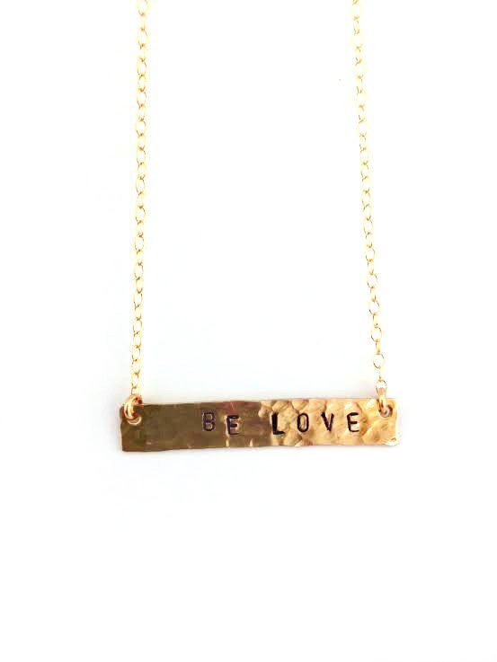 Image of Be Love Necklace