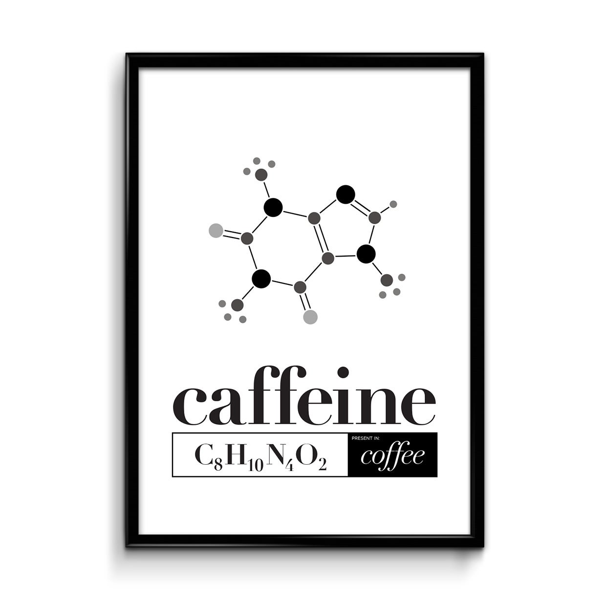 Image result for caffeine chemistry