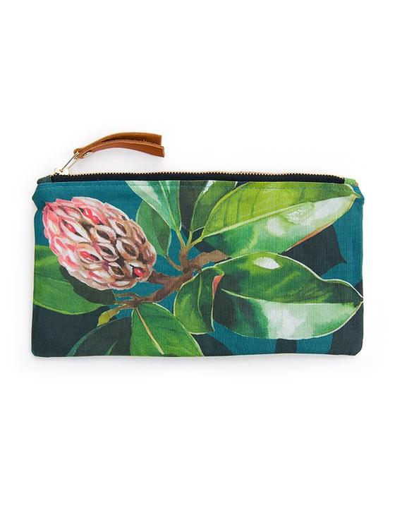 Image of Magnolia Grandiflora Canvas Pouch #4