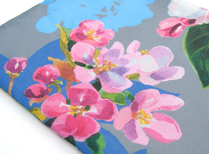 Image of Wild Apple & Honey Bee Canvas Pouch #4