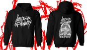 Image of Last Days Of Humanity - Putrefaction In Progress Hooded Sweat