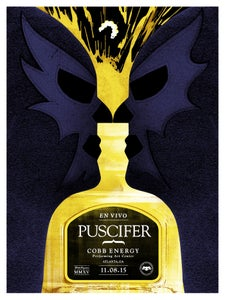 Image of Puscifer poster Atlanta GA. 11/08/15