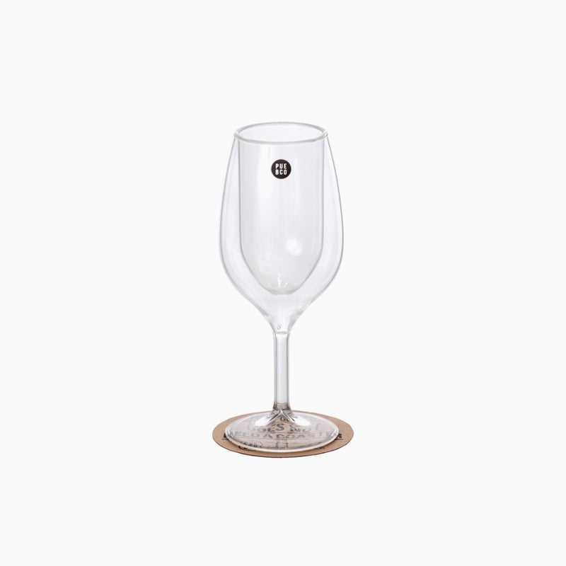 Image of PUEBCO Double Wall Wine Glass