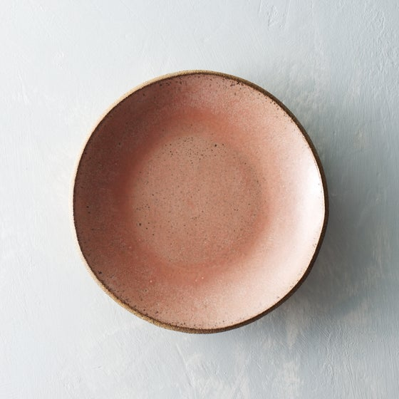 Image of Dark pink freckled bowl