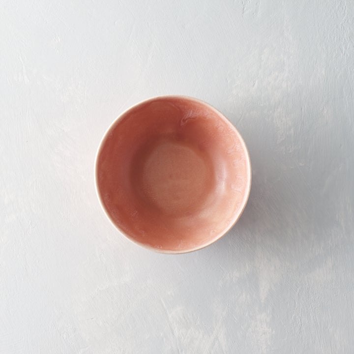 Image of Dark pink porcelain bowl