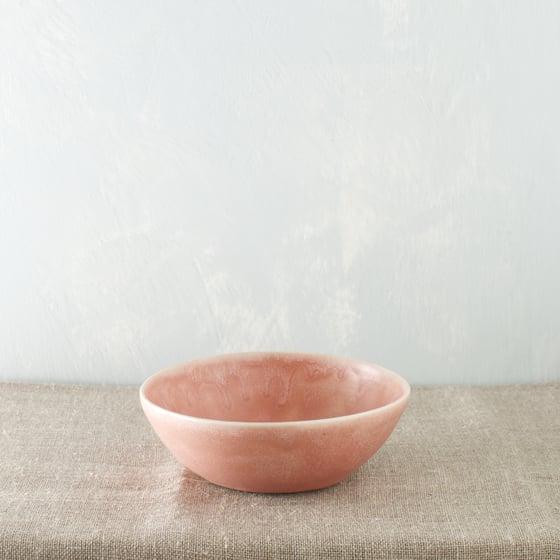 Image of Dark pink porcelain bowl