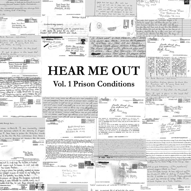 "Image of HEAR ME OUT Zine: Vol.1 Prison Conditions (7""x8.5"", 25 pages)"