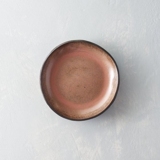 Image of Dark pink chocolate bowl