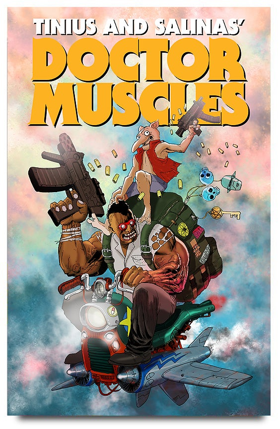 Image of Doctor Muscles: Omnibus