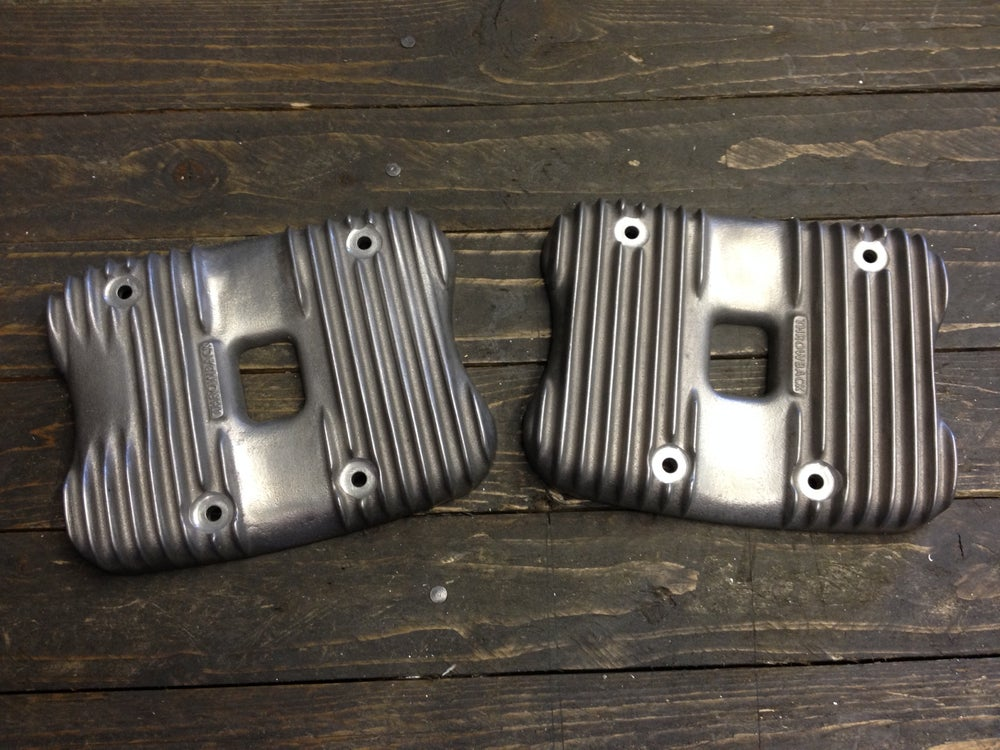 Image of Evo Sportster Finned Valve covers 86' to 04'