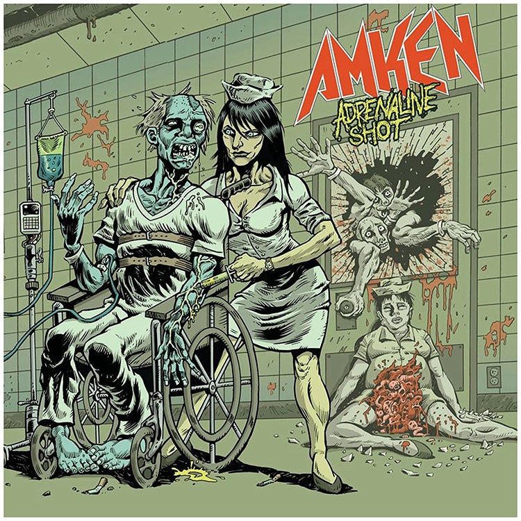 "Image of AMKEN ""ADRENALINE SHOT"" EP (2014) CD JEWEL CASE"
