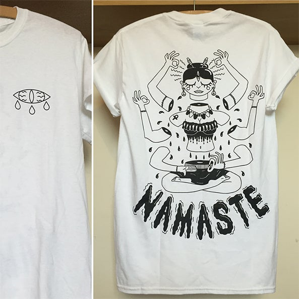 Image of Namaste t shirt