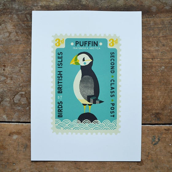 Image of Puffin Stamp