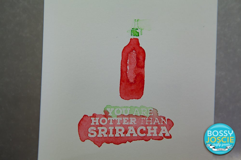 Image of Sriracha Bottle Stamp
