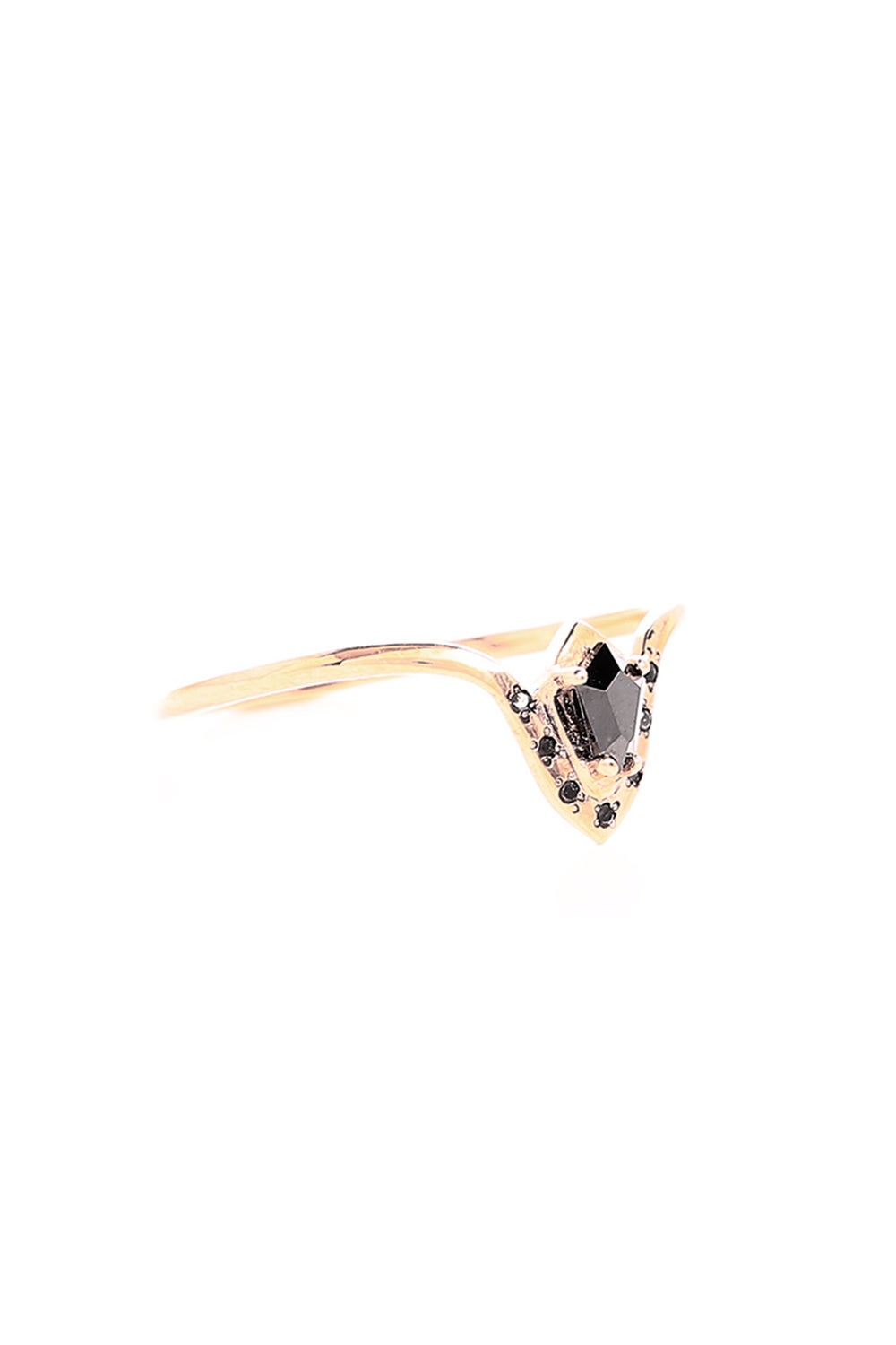 BLACK DIAMOND PHARAOH RING
