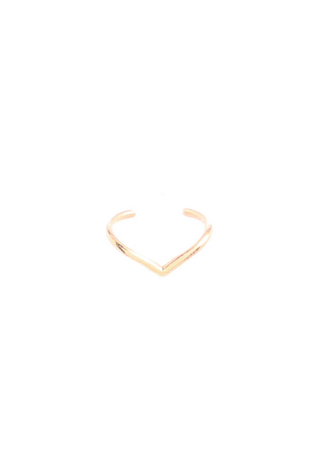 CHEVRON EAR CUFF