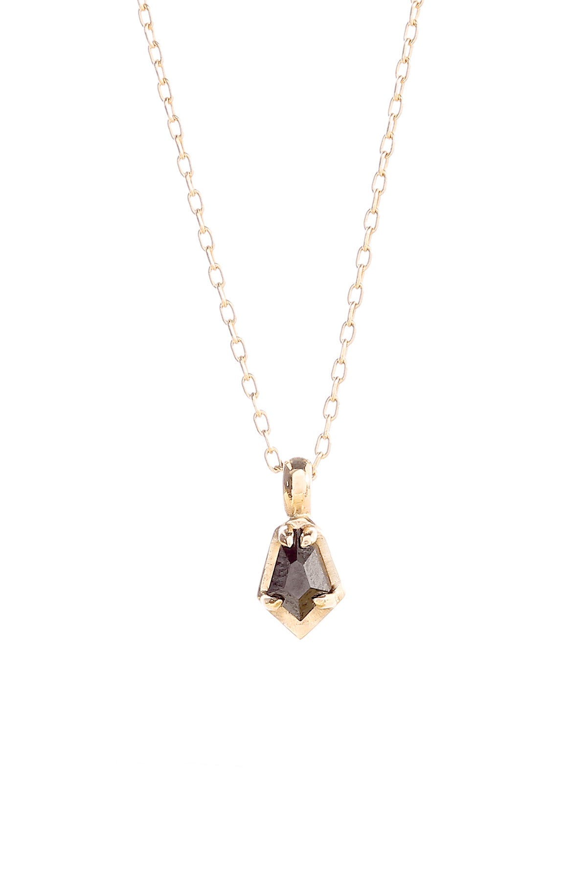 Image of BLACK DIAMOND SCARAB NECKLACE