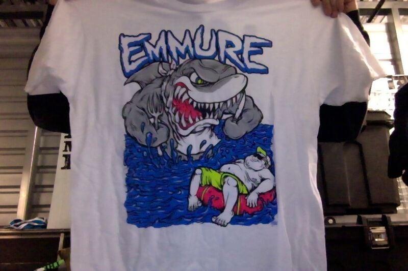 EMMURE SHARK T-SHIRT
