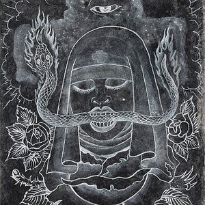 Image of Ed Hardy: Witness Print