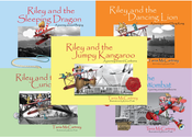 Image of Riley the Little Aviator Books - paperback books 1, 2, 3 and 4