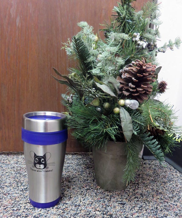 Image of 16 oz. Custom Chinchilla Travel Mug