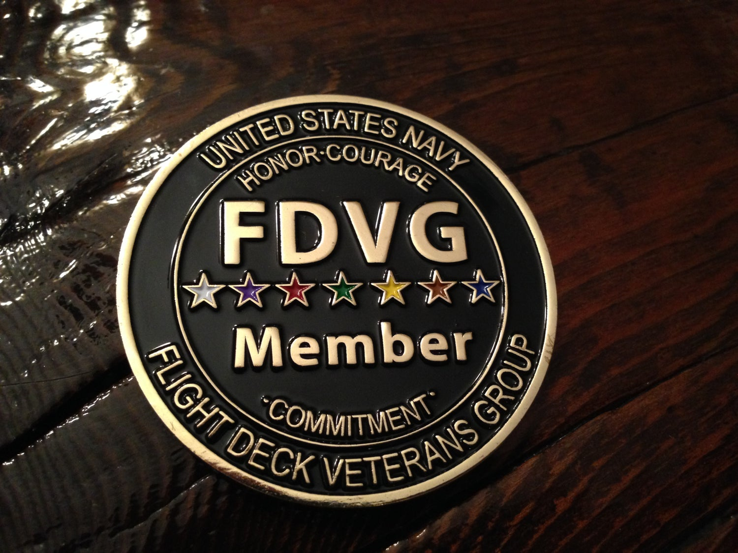 """Image of """"Member"""" Challenge Coin"""
