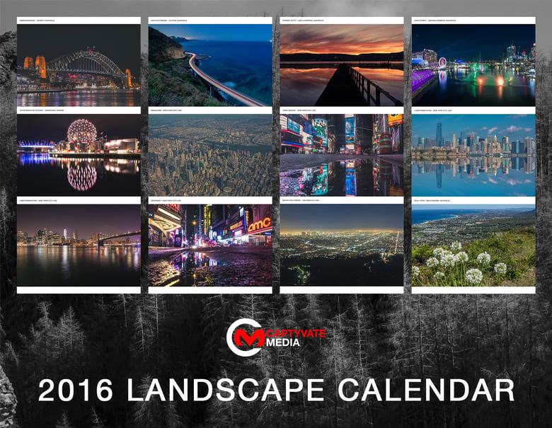 Image of 2016 Landscape Calendar