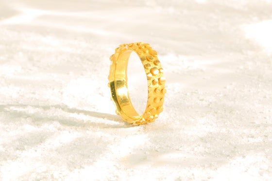 Image of Refrain, Ring in recycled solid gold 18k