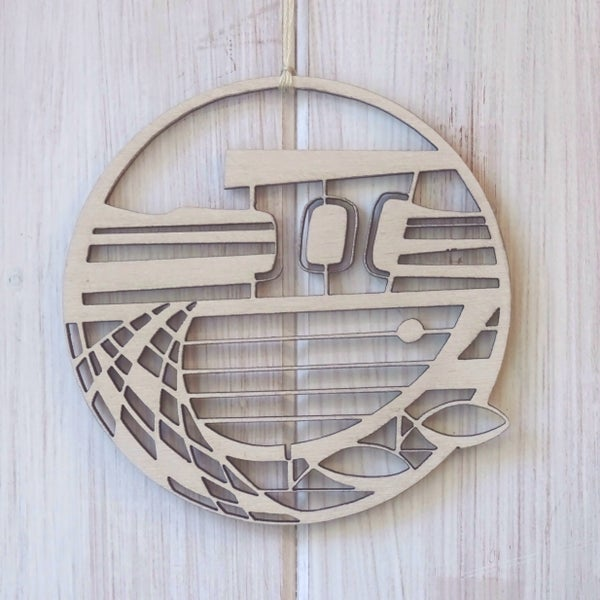 Image of Fishing Boat wooden decoration