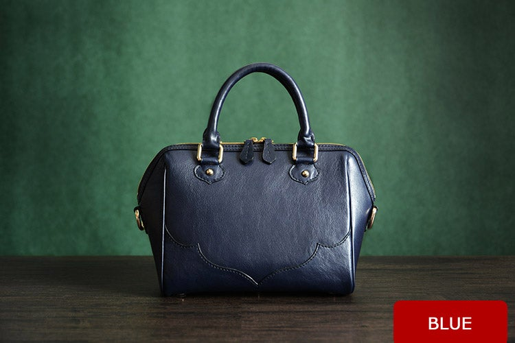 Image of Custom Handmade Italian Vegetable Tanned Leather Tote Bag, Messenger Bag, Lady Bag D008