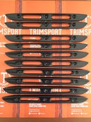 Image of Trimsport VW Corrado Carbon Fibre Rear Number Plate Light Trim