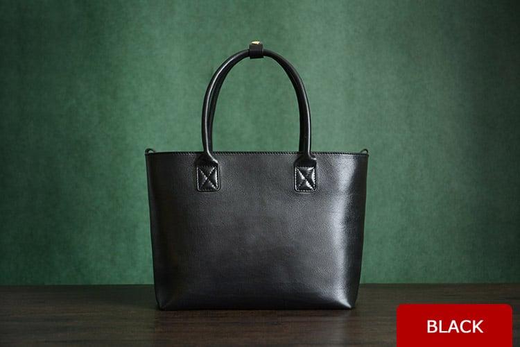 Image of Custom Handmade Italian Vegetable Tanned Leather Tote Bag, Shoulder Bag, Lady Handbag D013