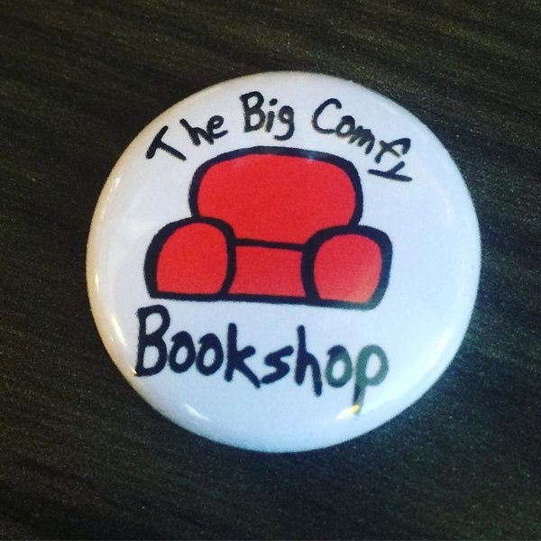 Image of Big Comfy Bookshop Button Badge