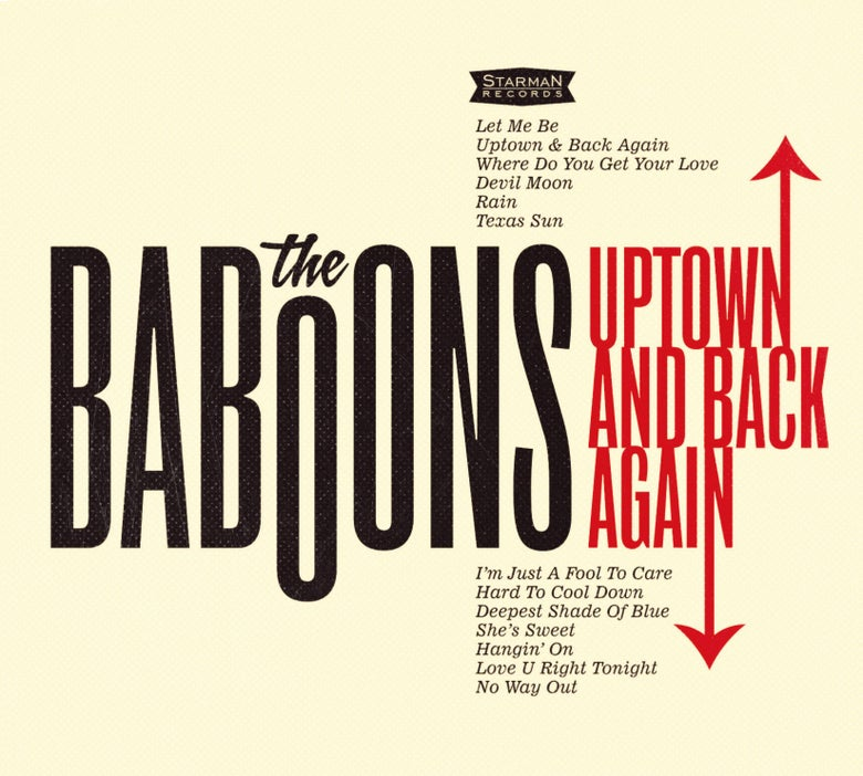 Image of The Baboons - Uptown And Back Again (2015) LP