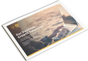 Image of Business Growth Solutions Brochure Print