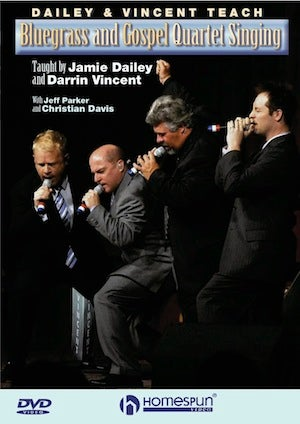 Image of Bluegrass and Gospel Quartet Singing - DVD