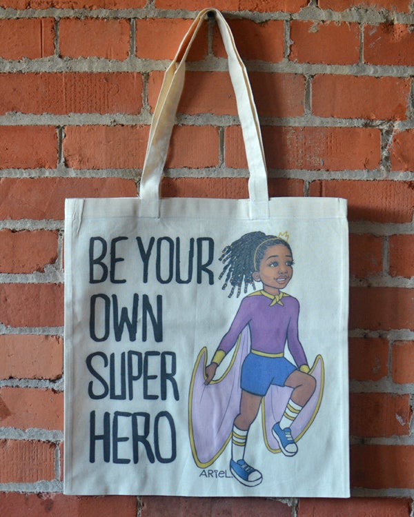 Image of Superhero Girl Tote