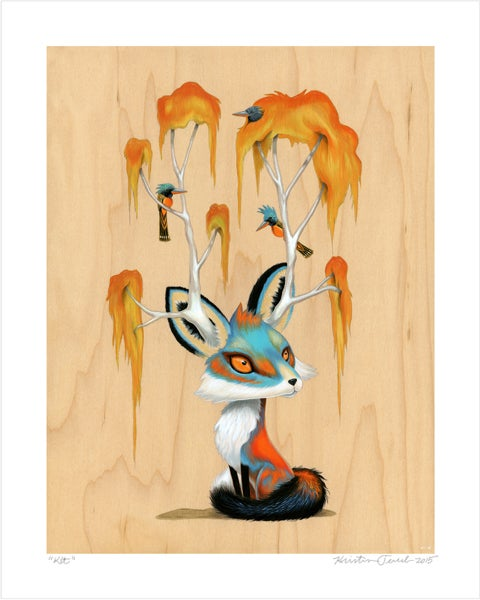"Image of ""Kit"" Giclee Print"