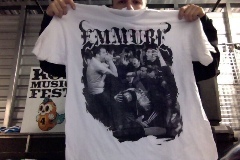 "EMMURE ""WARPED 2010"" TOUR SHIRT"