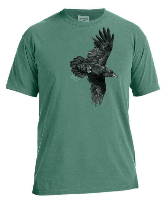 Image of Raven dyed t-shirt