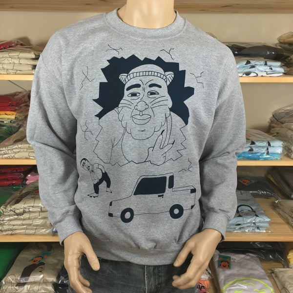 Smash and Grab sweatshirt - Sick Animation Shop
